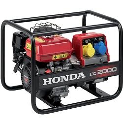 Honda generator hire
