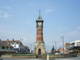 Clock Tower In Skegness