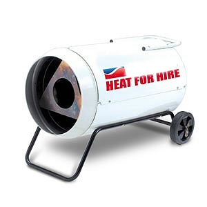 Heater Hire in Chesterfield and Sheffield