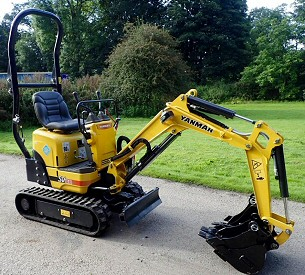 Micro Digger Hire in Sheffield