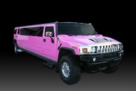 Pink Stretched Hummer Jeep Limo Hire