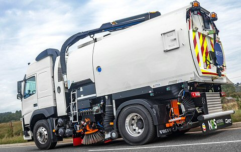 Sheffield Road Sweeper Hire