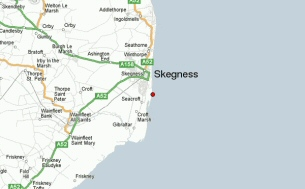 Skegness Road Map