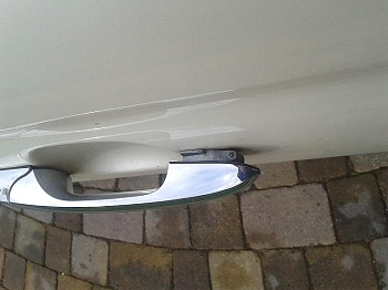 Fiat 500 Replacement Door Handle Hinge